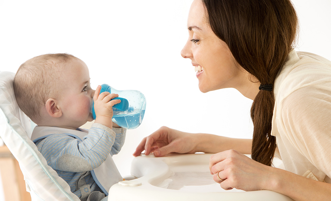 La hidratación del bebé