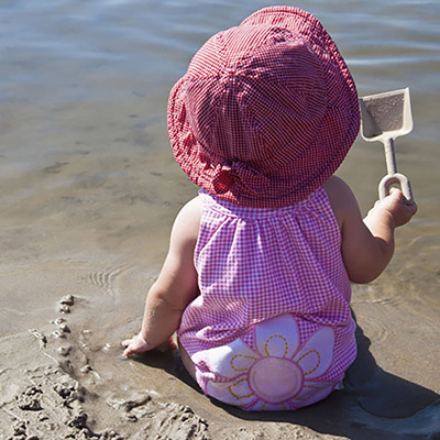Actividades que podemos hacer en verano con el bebé