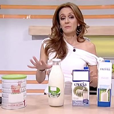 La leche de Cabra en el programa Saber Vivir de TVE